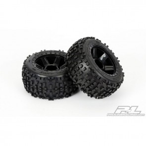 Pro-Line Badlands 3.8 All Terrain Tires Mounted Front/Rear PRO117811